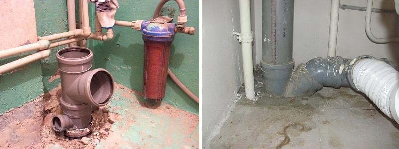 Шумоізоляція каналізаційного стояка в квартирі 3