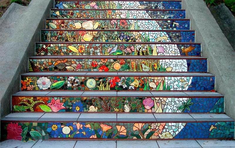 Як використовувати мозаїку для обробки і декору 3