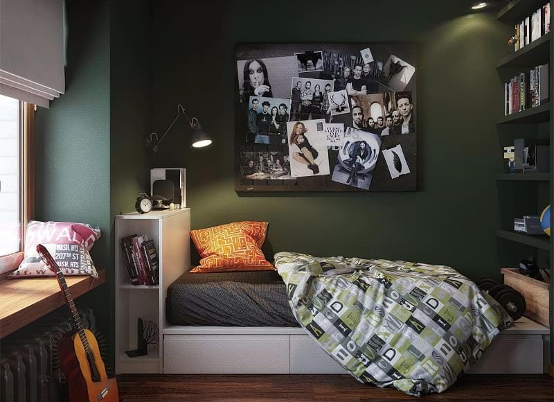 Ідеї оформлення кімнати для підлітка і поради дизайнерів 6