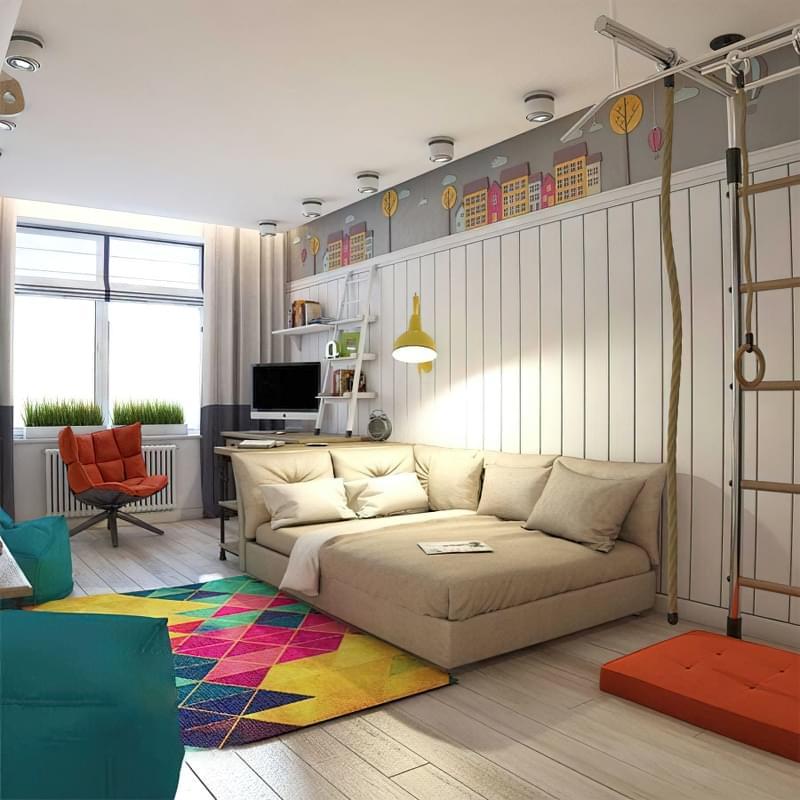 Ідеї оформлення кімнати для підлітка і поради дизайнерів 7