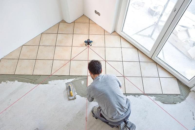 Укладання плитки по діагоналі: особливості та приклади 4