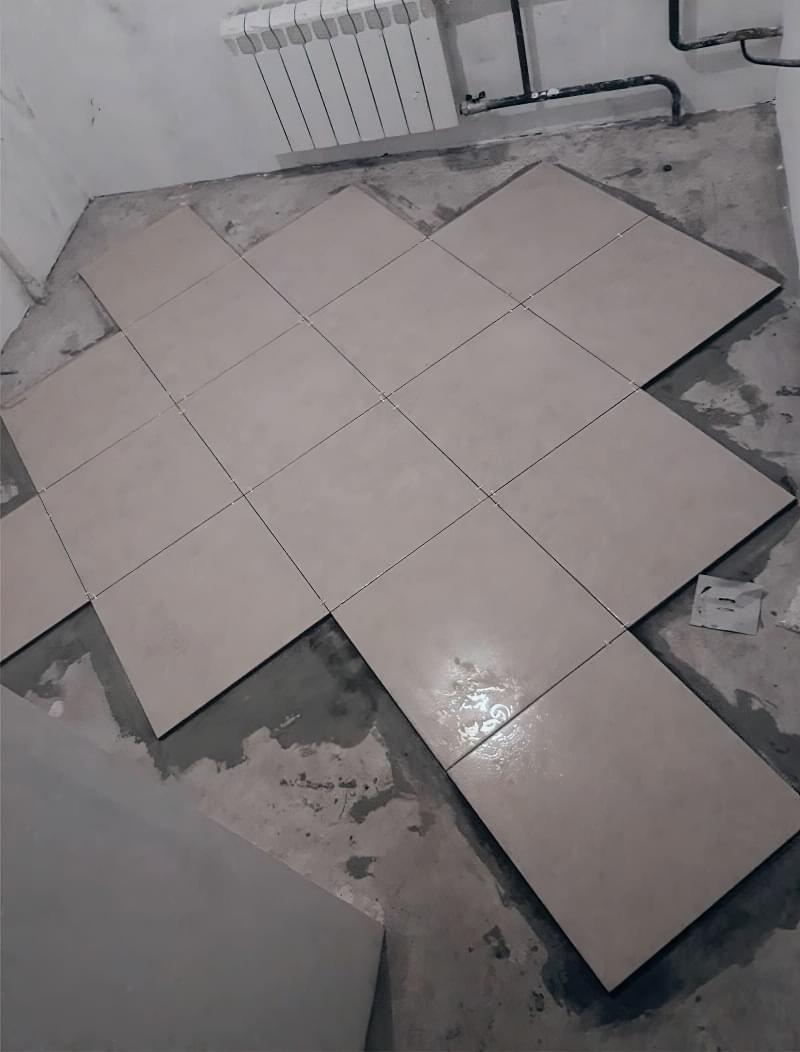 Укладання плитки по діагоналі: особливості та приклади 5