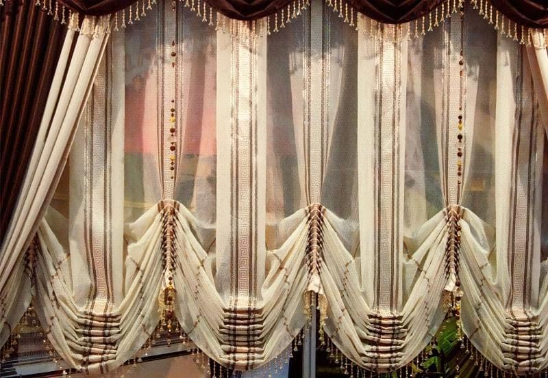Австрійські штори: приклади і особливості 2