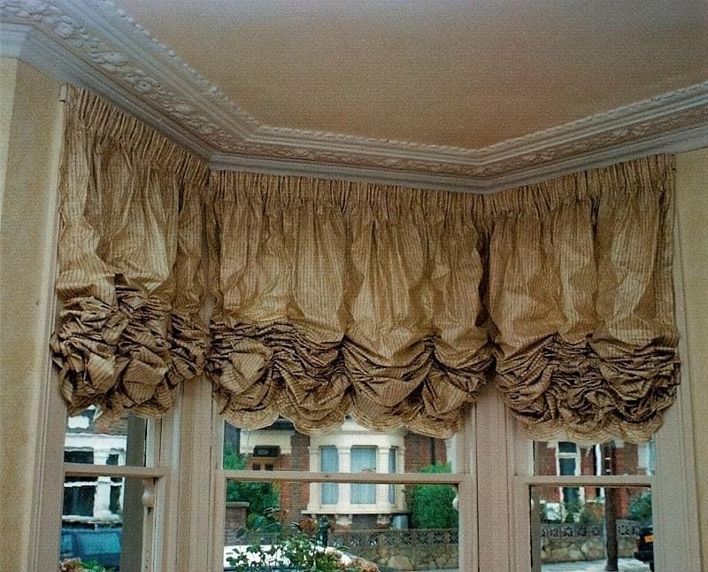 Австрійські штори: приклади і особливості 4
