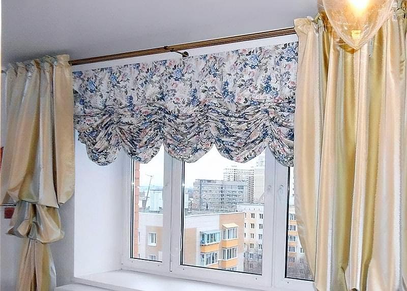 Австрійські штори: приклади і особливості 1