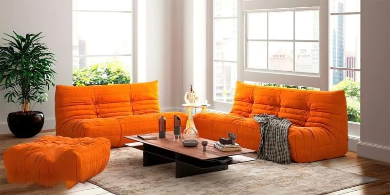 Безкаркасні дивани: особливості, плюси, мінуси, приклади 2