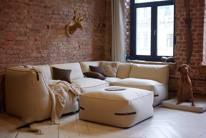 Безкаркасні дивани: особливості, плюси, мінуси, приклади 3