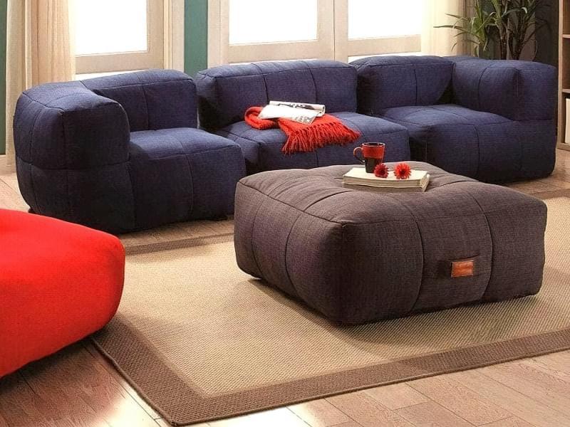 Безкаркасні дивани: особливості, плюси, мінуси, приклади 4