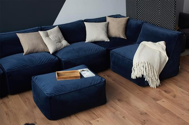 Безкаркасні дивани: особливості, плюси, мінуси, приклади 8
