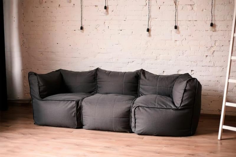 Безкаркасні дивани: особливості, плюси, мінуси, приклади 1