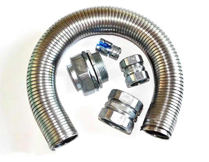 Металорукав для електричного кабелю: вибір і монтаж 5