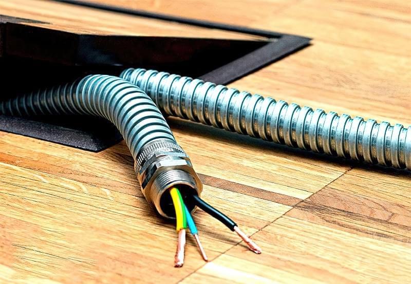 Металорукав для електричного кабелю: вибір і монтаж 1