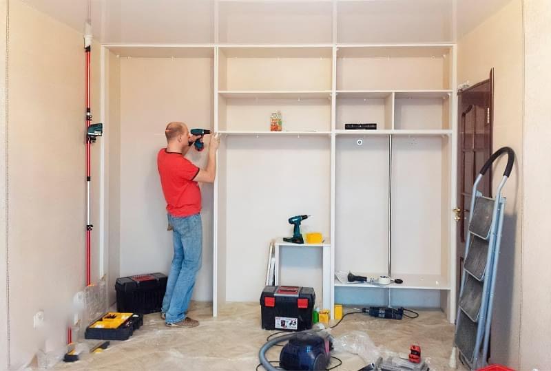 Найчастіші проблеми при установці вбудованих меблів 8