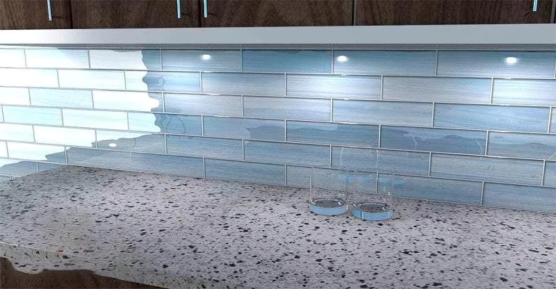 Плитка розміром до 30 сантиметрів: приклади і особливості використання 4