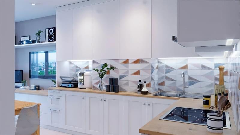 Фотопідбірка і особливості кухонь в скандинавському стилі 2