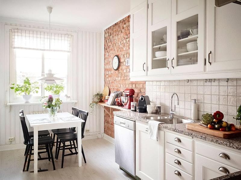 Фотопідбірка і особливості кухонь в скандинавському стилі 3