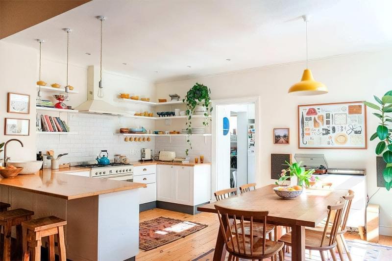 Фотопідбірка і особливості кухонь в скандинавському стилі 4
