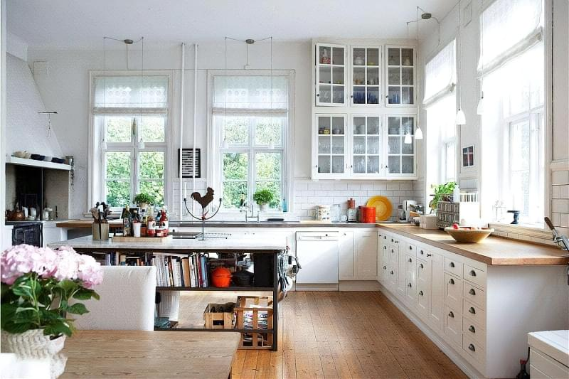 Фотопідбірка і особливості кухонь в скандинавському стилі 5