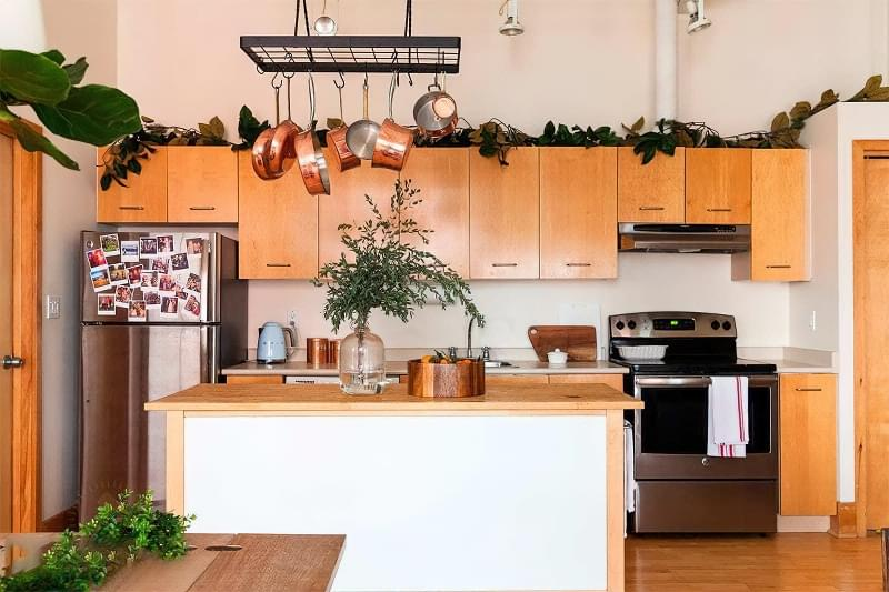 Фотопідбірка і особливості кухонь в скандинавському стилі 6