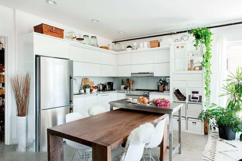 Фотопідбірка і особливості кухонь в скандинавському стилі 7