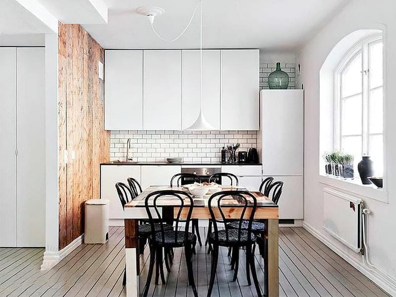 Фотопідбірка і особливості кухонь в скандинавському стилі 1