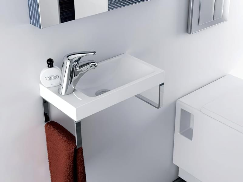 Міні-раковини в інтер'єрі ванної та санвузла 2