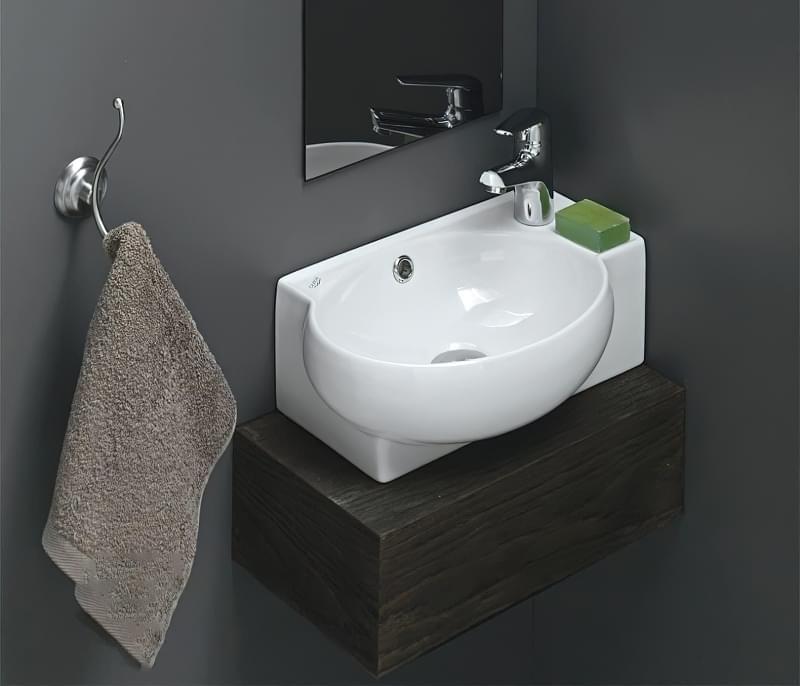 Міні-раковини в інтер'єрі ванної та санвузла 4