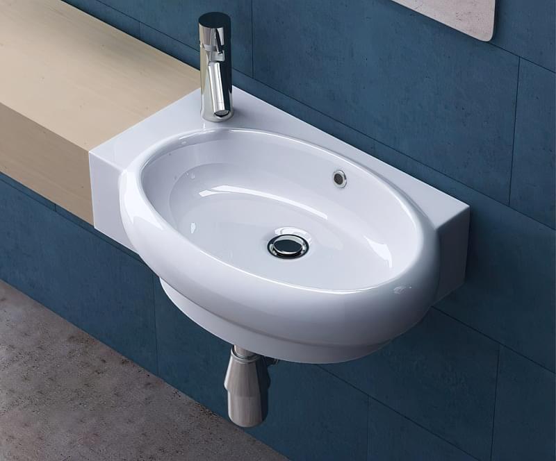 Міні-раковини в інтер'єрі ванної та санвузла 5