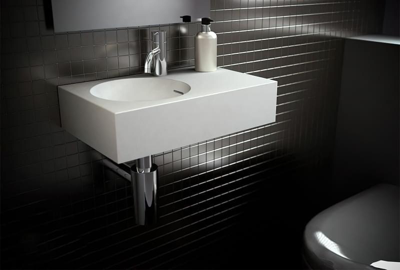 Міні-раковини в інтер'єрі ванної та санвузла 6