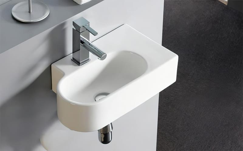 Міні-раковини в інтер'єрі ванної та санвузла 7