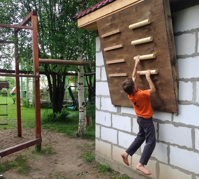 Скалодром для дітей своїми руками 1