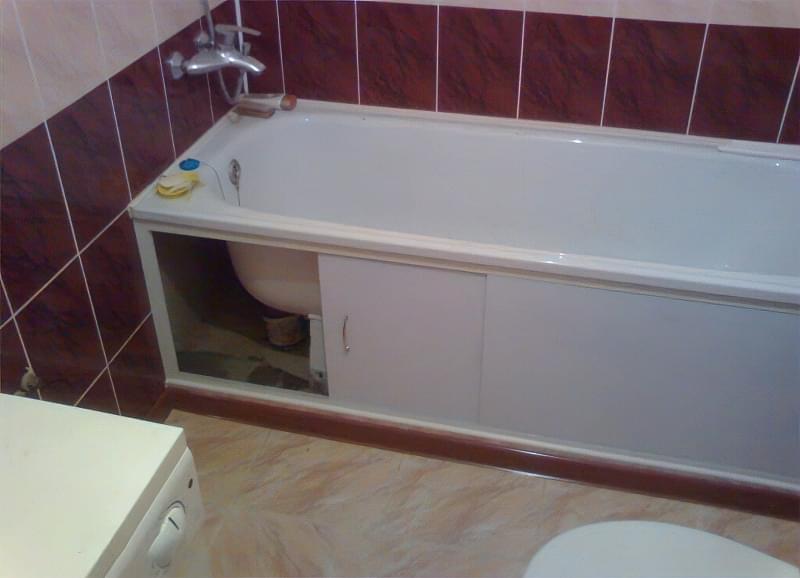 Вибираємо екран під ванну 5