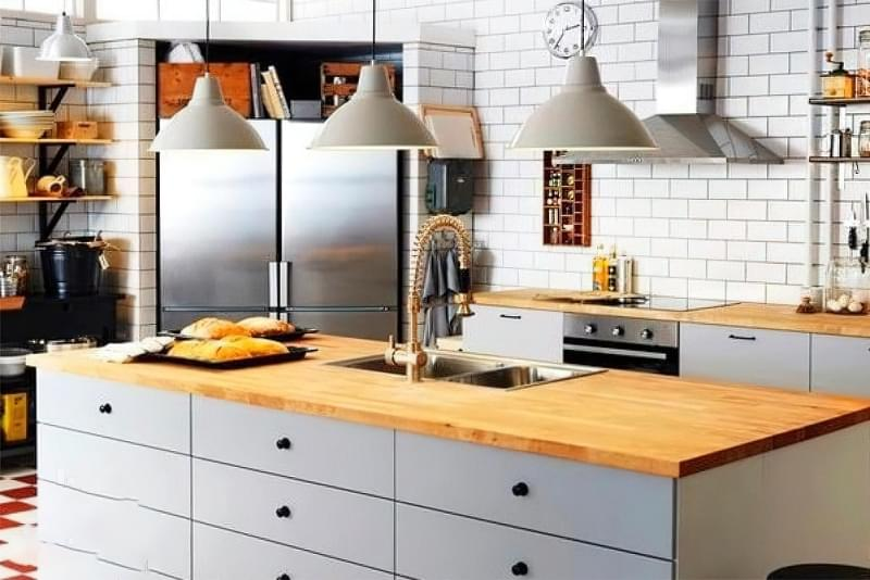 Вибираємо місце для мийки на кухні 7