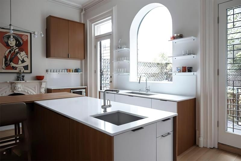 Вибираємо місце для мийки на кухні 8