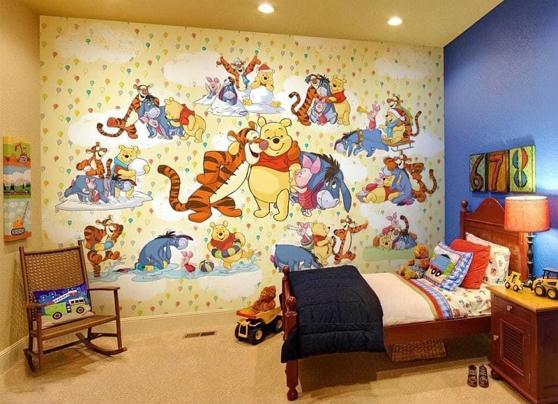Вибираємо шпалери для дитячої кімнати 2