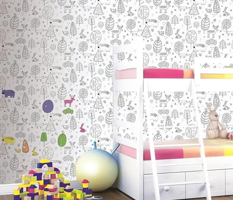 Вибираємо шпалери для дитячої кімнати 5
