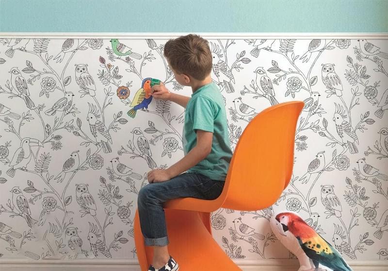 Вибираємо шпалери для дитячої кімнати 1