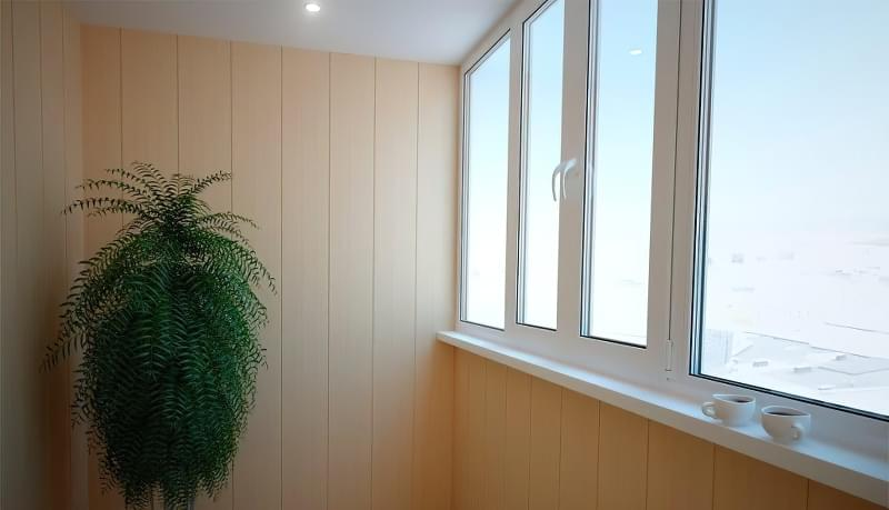 Чим можна обшити балкон зсередини 2