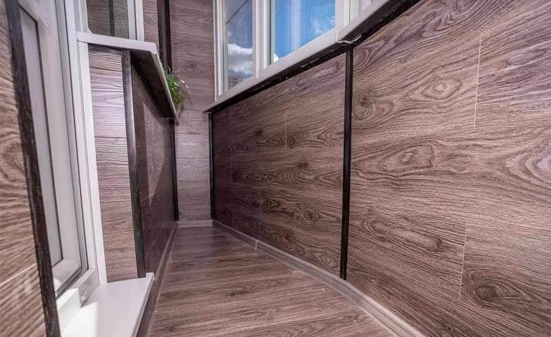 Чим можна обшити балкон зсередини 5