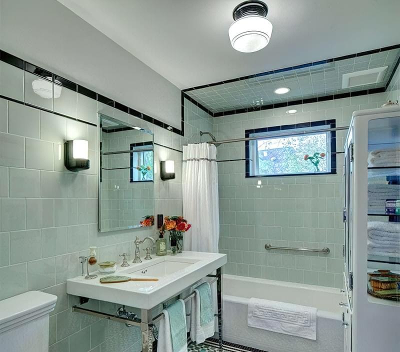 Дзеркало над раковиною у ванній кімнаті: за і проти 2