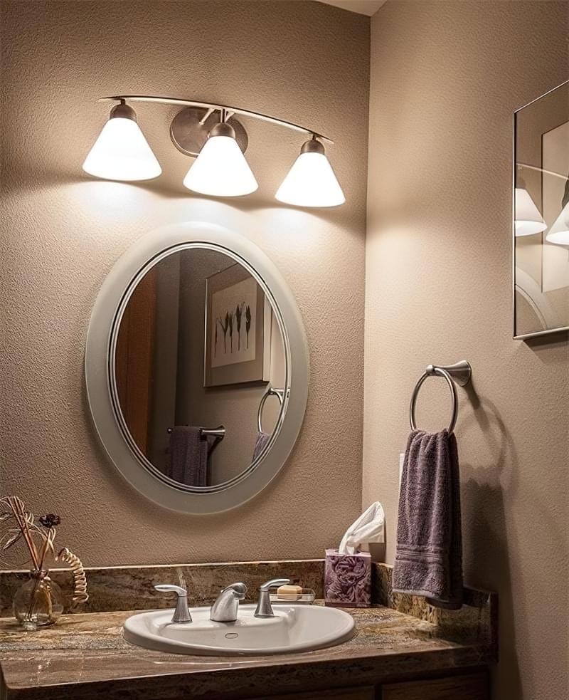 Дзеркало над раковиною у ванній кімнаті: за і проти 6