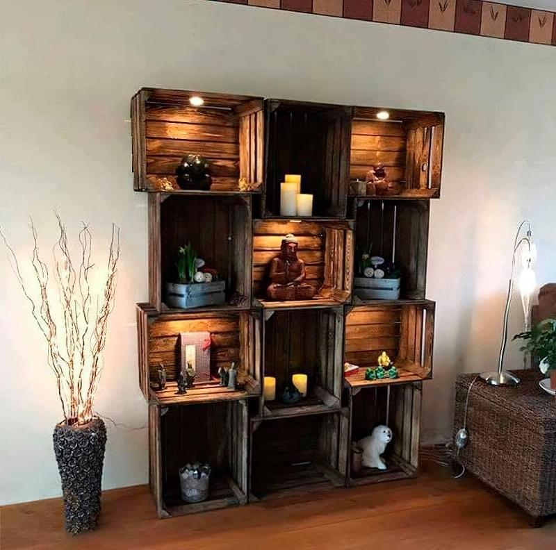 Що можна зробити зі звичайних дерев'яних ящиків 6