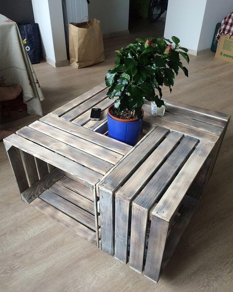 Що можна зробити зі звичайних дерев'яних ящиків 1