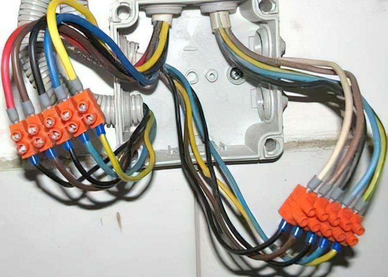 Види з'єднання проводів і кабелів 1