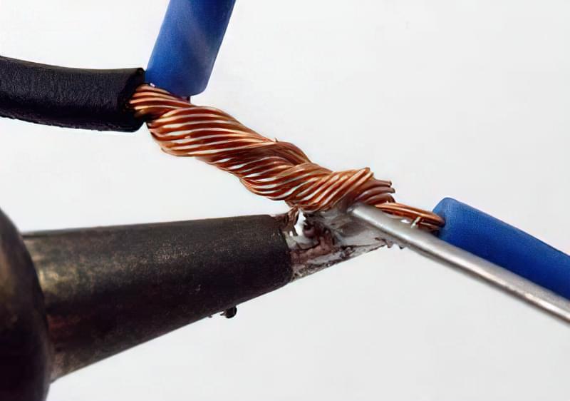 Види з'єднання проводів і кабелів