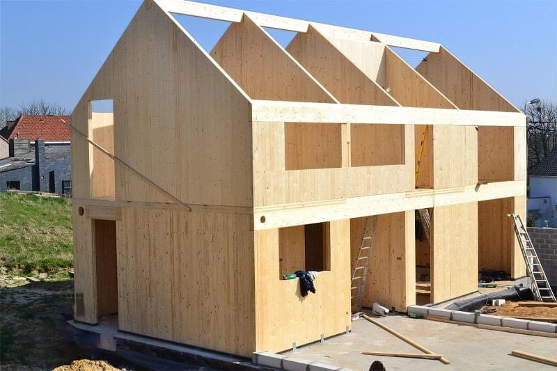 CLT панелі для будівництва будинку: особливості, плюси, мінуси 4