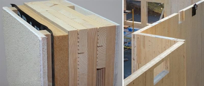 CLT панелі для будівництва будинку: особливості, плюси, мінуси 6