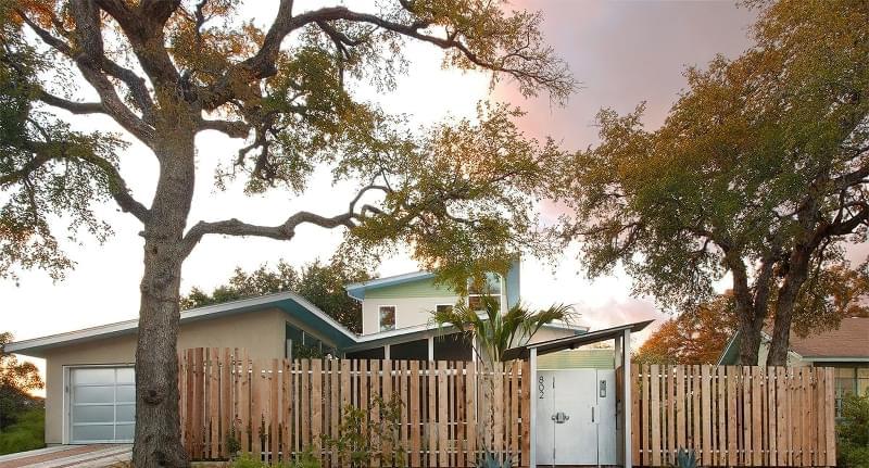 Ідеї для будівництва красивого дерев'яного паркану 2