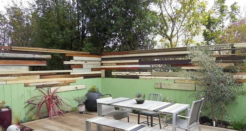 Ідеї для будівництва красивого дерев'яного паркану 10