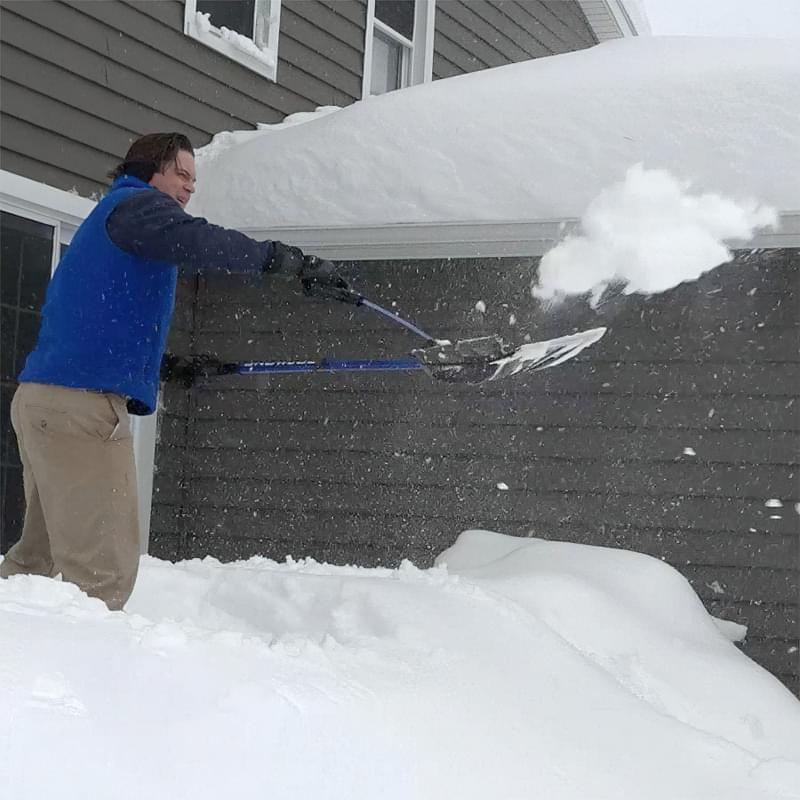 Огляд лопат для чищення снігу 5